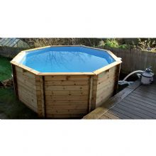 Octagonal Wooden Fun Pool - 10ft - (4ft Depth) - Upgraded Version